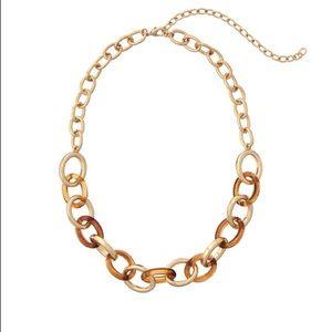 Dia & Co Vitava River Tortoise Shell Necklace Gold